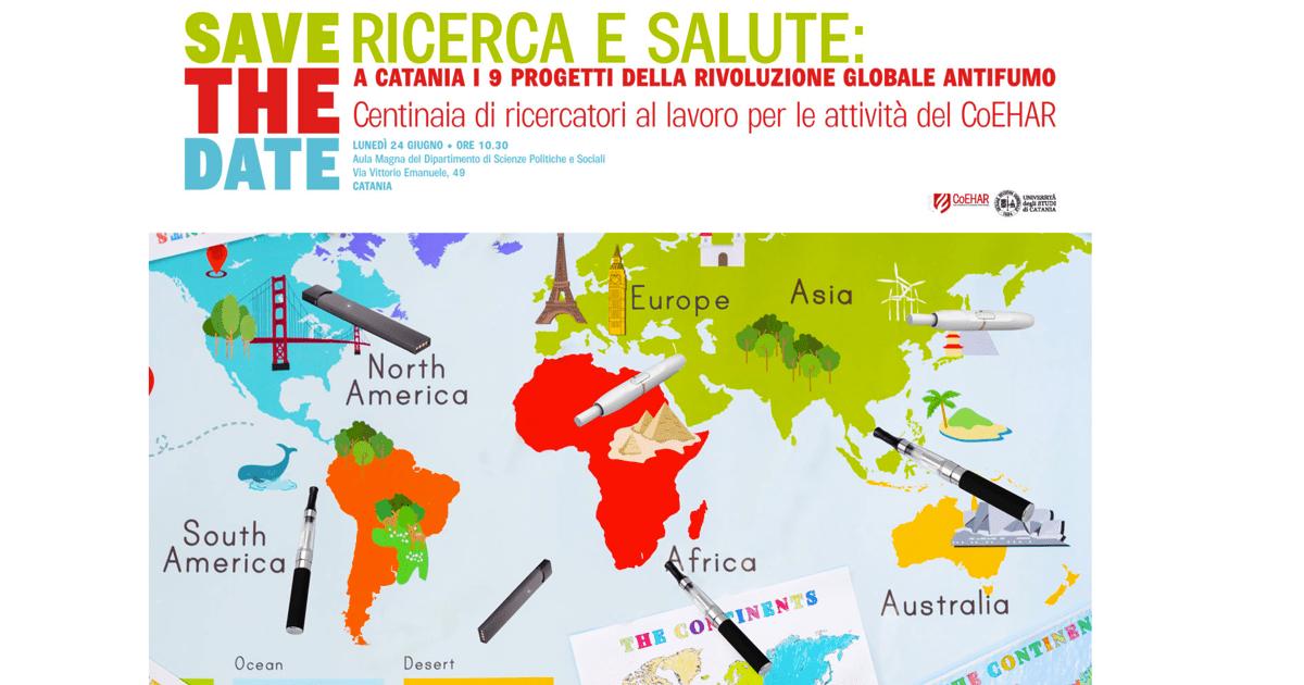 A Catania i 9 progetti della rivoluzione globale antifumo ...